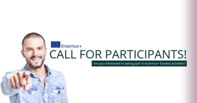 "Call For Participants – Erasmus+ ""The Change Starts With Us"" 5th – 10th March 2018 (Turkey)"