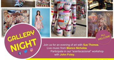Gallery Night | Emma's First Art Workshop in London @Studio_Upstairs